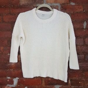 Madewell Chunky Knitted Sweater Size XS
